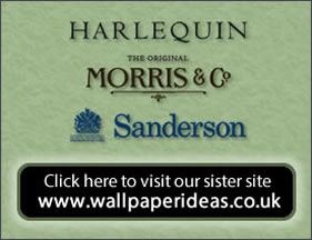 Harlequin, Sanderson and William Morris.