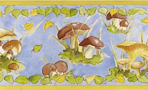 mushroom border