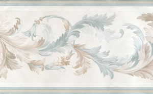 feather leaf border