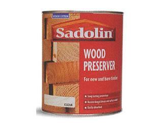 sadolin wood preserver.