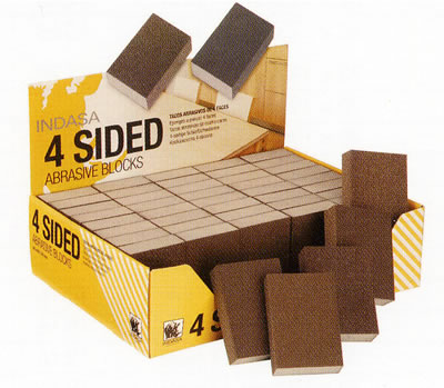 indasa 4 sided abrasive blocks.