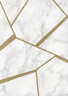 GEOMETRIC METALLIC WALLPAPER by Fine Decor